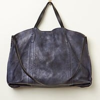 Old Trend Womens Dip Dye Leather Tote