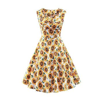 ee8172a35 Best Vintage Sunflower Dress Products on Wanelo