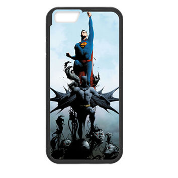 "DC Comics Apple Iphone 6 Case Batman & Superman (The New 52) TPU Bumper Iphone 6/6s (4.7"")"