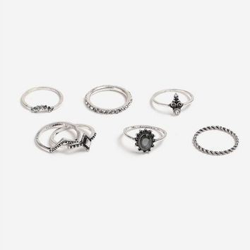Engraved 8 Ring Pack - Jewelry - Bags & Accessories