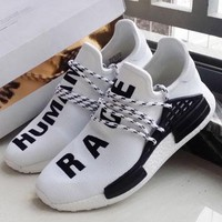 ADIDAS NMD Human Race Fashion Women Breathable Running Sneakers Sport Shoes