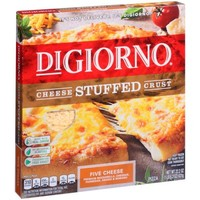 DIGIORNO Cheese Stuffed Crust Five Cheese Frozen Pizza 22.2 oz. Box - Walmart.com