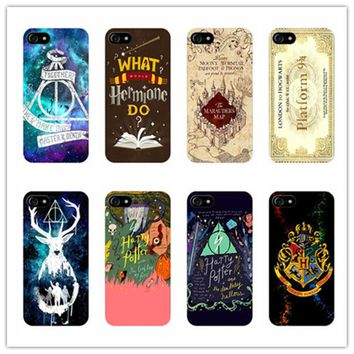 Don't touch my phone muggle Harry Potter Phone Cases For iPhone 6 6S plus 7 Plus 7 5 5S E For Samsung Galaxy S6 edge S7 edge S5