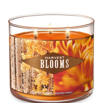 HARVEST BLOOMS3-Wick Candle