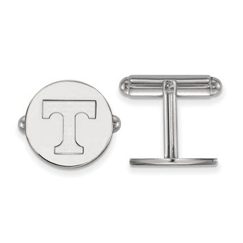 NCAA Sterling Silver University of Tennessee Cuff Links