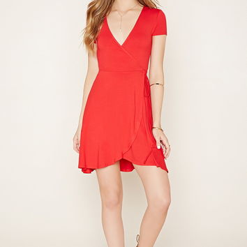 Surplice Self-Tie Dress | Forever 21 - 2000204547