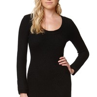 Element Shadow Dress - Womens Dress - Black