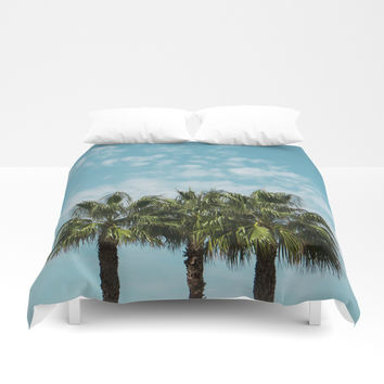 Good vibes. Landscape Duvet Cover by VanessaGF