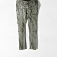 AEO Women's Utility Jegging Crop (Burnt Olive)