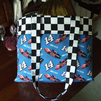 Tote Bag for the Nascar Fans