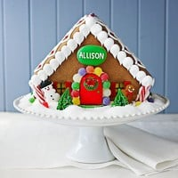 Personalized Gingerbread House