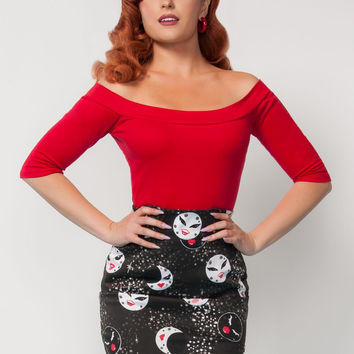 Monroe Top in Red