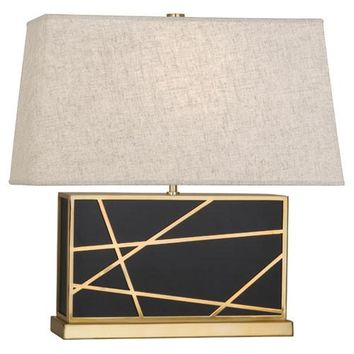 Robert Abbey Micheal Berman Bond Wide Table Lamp