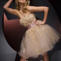 TS21005  Tony Bowls Short PZAZ DRESSES,THE BEST DRESS STORE ON LONG ISLAND