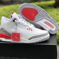 Air Jordan 3 Retro QS Katrina Men Basketball Sports Shoes