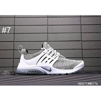 NIKE AIR PRESTO 2018 Summer Men and Women Small Sock Sneakers F-A0-HXYDXPF #7