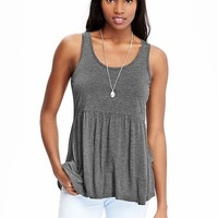 Old Navy Womens Peplum Hem Tanks