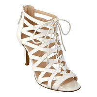Nine West: AUTHORITY PEEP-TOE CAGED BOOTIES