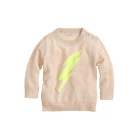 crewcuts Baby Cashmere Sweater In Lightning Bolt