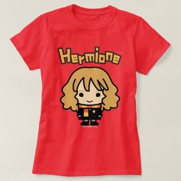 Hermione Granger Cartoon Character Art T-Shirt