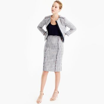 Jacket in lightweight tweed : Women novelty | J.Crew