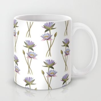 Lotus flowers Mug by Savousepate