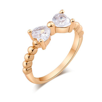 New arrival Crazy Feng Gold plated with CZ stone Full Size Couple fashion Rings Gift Jewelry = 1929814596