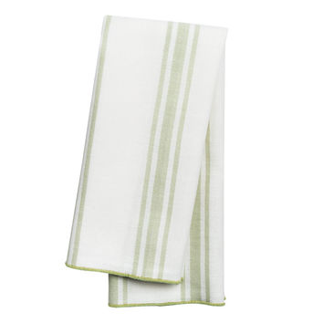 Lime Green Country Table Linens