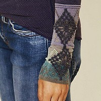 Free People  Kombucha Cuff Thermal at Free People Clothing Boutique