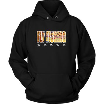 Fly Fishing Dry Fly Unisex Hoodie