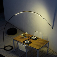 VIBIA - Halley Floor To Wall Lamp 4155-04 at 2Modern