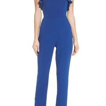Adelyn Rae Penny Strapless Jumpsuit | Nordstrom