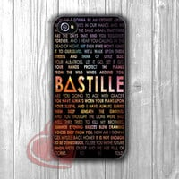 Bastille lyric galaxy -JJ for iPhone 4/4S/5/5S/5C/6/ 6+,samsung S3/S4/S5,samsung note 3/4