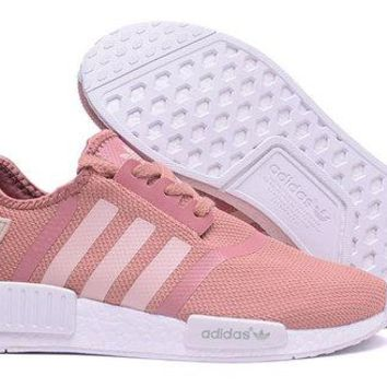 ADIDAS NMD Fashion Casual Shoes for Men and Women F Pink