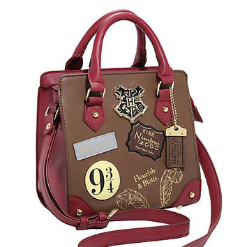Harry Potter Patch Satchel Bag