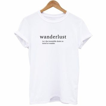 Wanderlust Definition T-Shirt