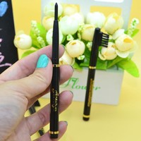 Metal Comb Upscale Eyeliner Pen With Brush