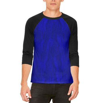 DCCKJY1 Halloween Peacock Feathers Costume Mens Raglan T Shirt