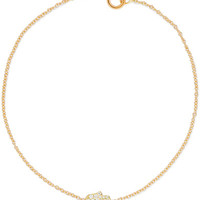 Jennifer Meyer - 18-karat gold diamond bracelet