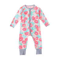 Newborn Clothes Baby Romper Long-Sleeve Micro-polar Jumpsuit Newborn Baby Girl Costume for Spring Autumn