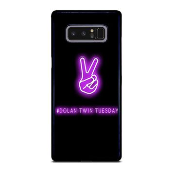 DOLAN TWIN TUESDAY Samsung Galaxy Note 8 Case Cover