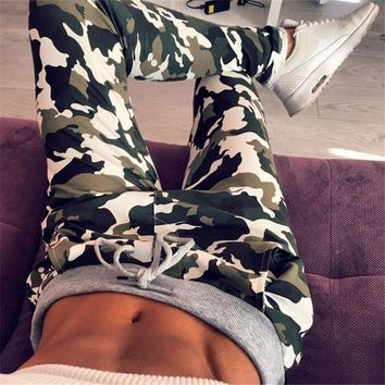 Hot Sale Camouflage Print Casual Pants [6717628231]