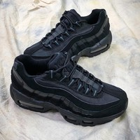 Nike Air Max 95 Black Sport Running Shoes - Best Online Sale