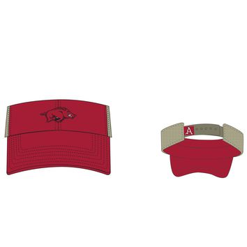 Licensed Official NCAA Visor Sandston Hat Mesh by Top of the World KO_19_1
