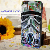 star wars stormtrooper pop art for iphone, samsung galaxy and ipod case