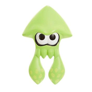 "Splatoon GREEN SQUID 2.5"" Mini Figure World Of Nintendo"