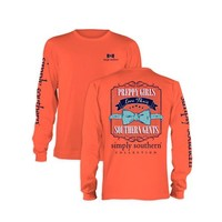 Palmetto Moon | Simply Southern Gents Long Sleeve T-shirt | Palmetto Moon