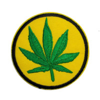 Weed Leaf Patch