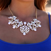 Flowering Bib Necklace