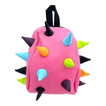 MadPax Nibbler Spiked Backpack in Pinkl/Multicolor